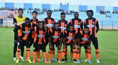 Perseru Serui Football Team