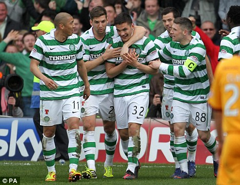Celtic Football Team