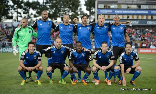 SJ Earthquakes Football Team1