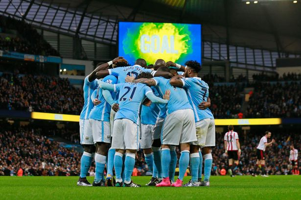 Manchester City Football Team